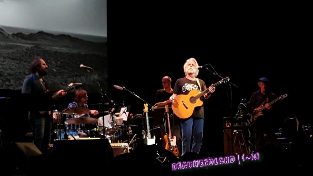 SETLIST: Bob Weir The Campfire Tour Fri. Oct. 7, 2016 Marin Veterans Memorial Auditorium San Rafael, CA