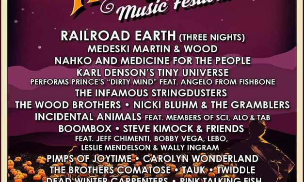 FESTIVAL! Hangtown Music Festival! feat. Railroad Earth (3 nights!) AND OTHER DHL FAVES! Oct. 20 to 23rd 2016 PLACERVILLE CALIFORNIA