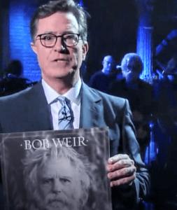 Stephen Colbert with Bob Weir's Blue Mountain