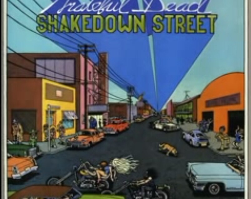 "38th anniversary of the Grateful Dead's ""Shakedown Street"" (Album released November 15, 1978)"