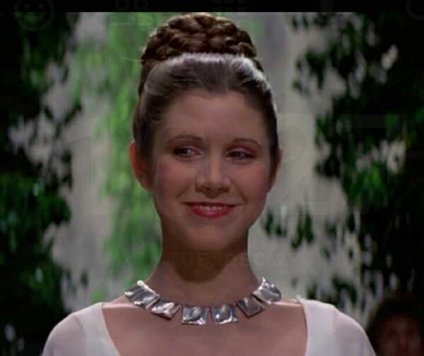 Carrie Fisher ???? forever our Princess #maytheforcebewithher #always 1956-2016