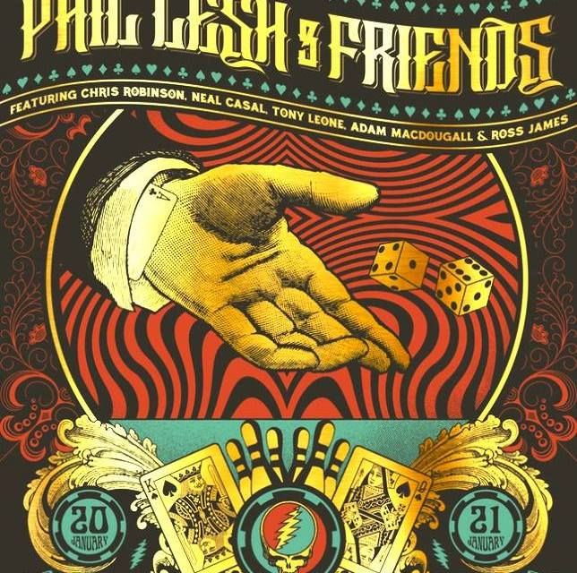 """SETLIST & FULL VIDEO: Phil Lesh and Friends do Grateful Dead """"American Beauty"""" and """"Workingman's Dead"""" Las Vegas, Friday January 20th 2017"""