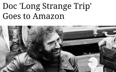 "Martin Scorsese produced Grateful Dead ""Long Strange Trip"" will be on Amazon video"