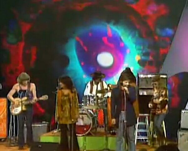 "VIDEO Jefferson Airplane ""We can be Together, Volunteers – 8/19/1969 Dick Cavett"
