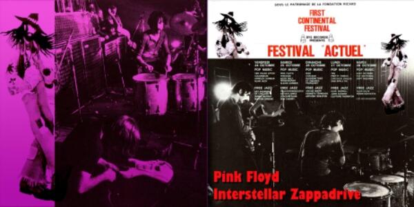 "Pink Floyd & Frank Zappa Live ""Interstellar Overdrive"" 1969"