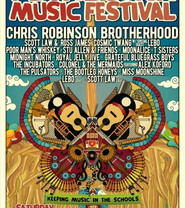 Announcing the 2017 lineup for  The 10th Annual Petaluma Music Festival!  Chris Robinson Brotherhood, Scott Law & Ross James' Cosmic Twang, Lebo, and more! Saturday, August 5th at the Sonoma-Marin Fair Grounds