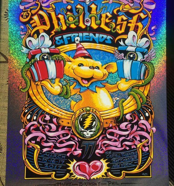 SETLIST Phil Lesh & FriendsPhil's Birthday BashMarch 15, 2017Capitol TheatrePort Chester , NY