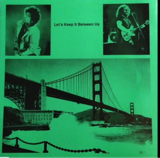 "RARE AUDIO: Bob Dylan & Jerry Garcia – ""Let's Keep It Between Us"" Warfield, San Francisco, November 16th 1980"