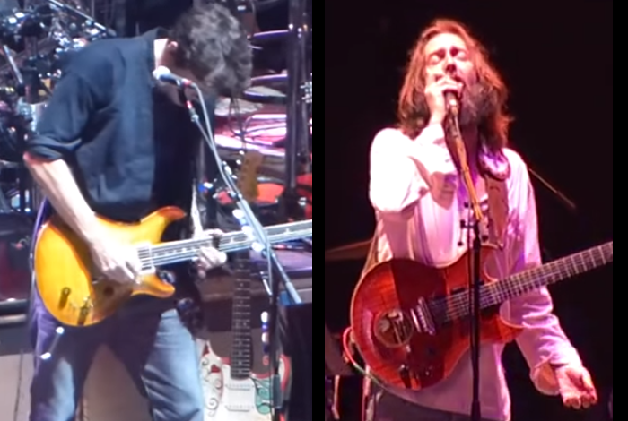 "VIDEO FACE-OFF Part 2: ""Althea"" - Chris Robinson vs. John Mayer"
