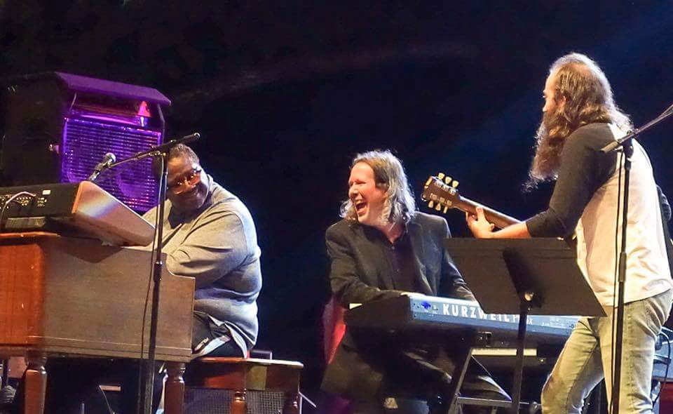 Melvin Seals, Jason Crosby, Ross James Photo 📷 by Doug Clifton
