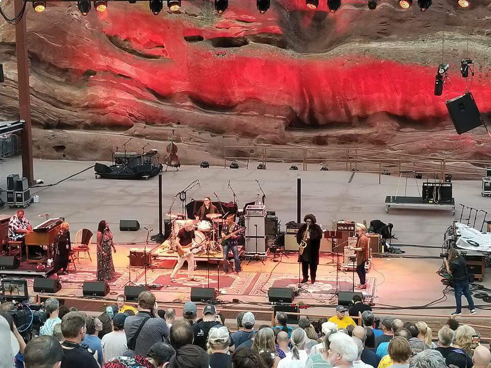 Setlist and Video: Jerry Garcia 75th Birthday Band, Melvin Seals , Tom Hamilton , Oteil Burbridge , Duane Trucks , Kamasi Washington ,Jackie LaBranch and Gloria Jones  With Special Guest John Mayer