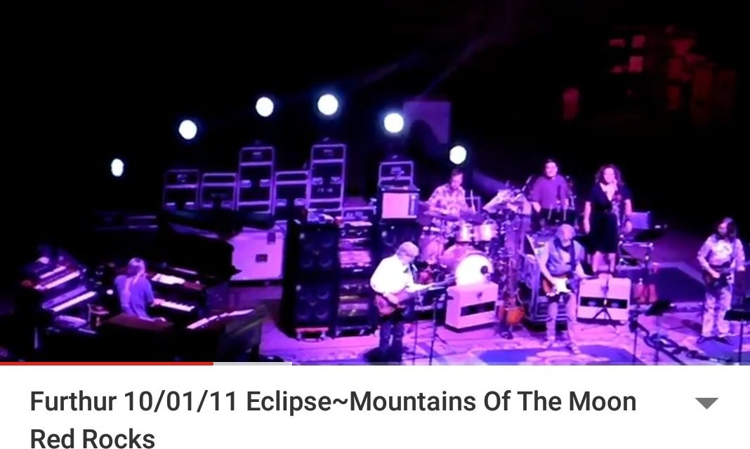 """Furthur """"Eclipse > Mountains Of The Moon"""" Red Rocks10/01/11"""