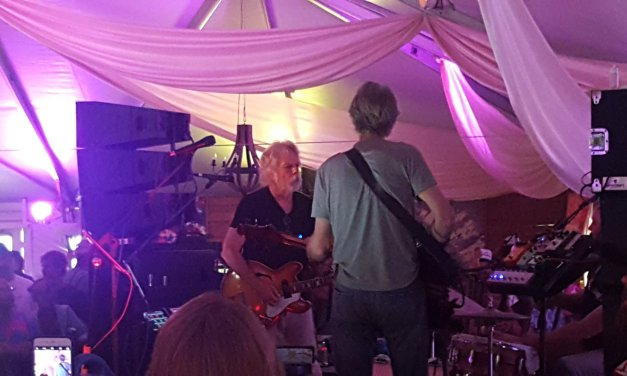 SETLIST & Video: Phil Lesh, Bob Weir, and Joe Russo |Super VIP Lounge,  Lockn' Festival, Arrington VA | Saturday August 26 2017