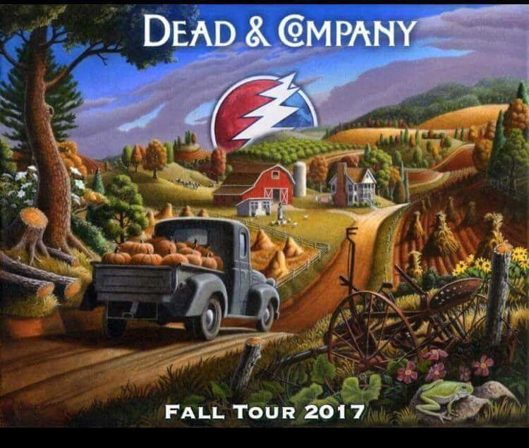 dead and company setlist thursday november 16 2017 wells fargo center philadelphia pa. Black Bedroom Furniture Sets. Home Design Ideas