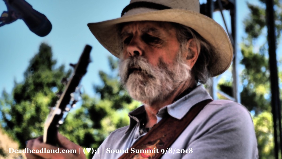 Bob Weir Setlist and Videos | Sound Summit |  Cushing Memorial Amphitheatre, Mill Valley California | Saturday September 9, 2018