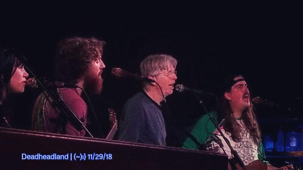 Phil Lesh and the Terrapin Family Band Reunion setlist | Thursday November 29, 2018 | Terrapin Crossroads, San Rafael California