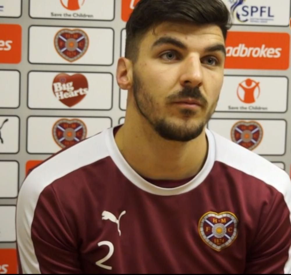 Hearts & Scotland star Callum Paterson travels to Bradford for knee surgery