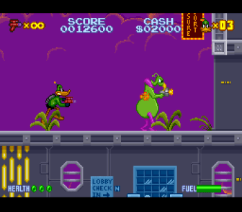 Daffy Duck Marvin Missions SNES - 07