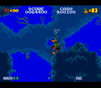 Daffy Duck Marvin Missions SNES - 13