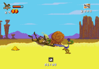 Desert Demolition Starring Road Runner and Wile E Coyote (Genesis) - 03