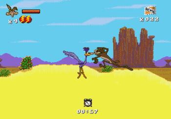 Desert Demolition Starring Road Runner and Wile E Coyote (Genesis) - 04