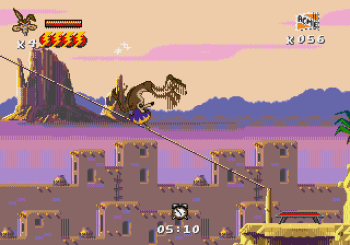 Desert Demolition Starring Road Runner and Wile E Coyote (Genesis) - 11