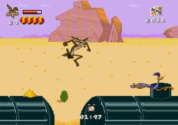 Desert Demolition Starring Road Runner and Wile E Coyote (Genesis) - 12