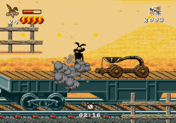 Desert Demolition Starring Road Runner and Wile E Coyote (Genesis) - 13