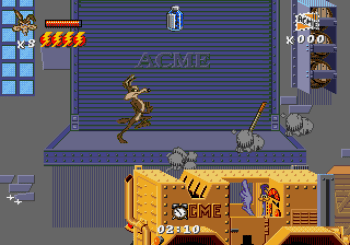 Desert Demolition Starring Road Runner and Wile E Coyote (Genesis) - 20