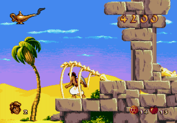 Disney's Aladdin Genesis - 12