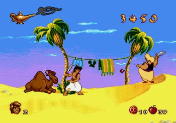 Disney's Aladdin Genesis - 14