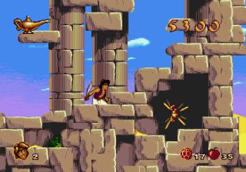 Disney's Aladdin Genesis - 16