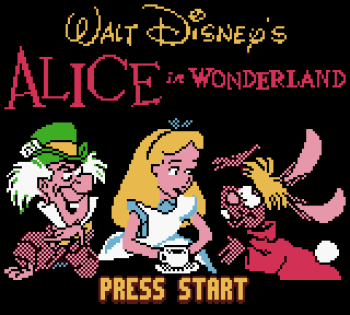 Disney's Alice in Wonderland GBC - 01
