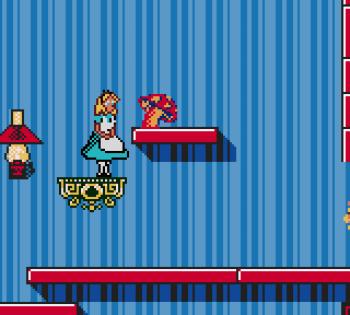 Disney's Alice in Wonderland GBC - 08