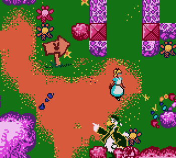 Disney's Alice in Wonderland GBC - 18