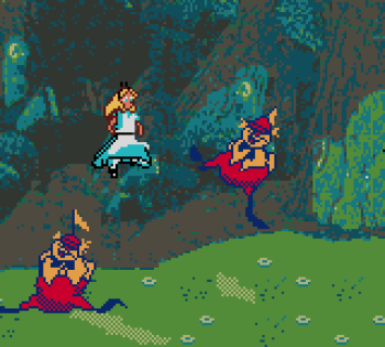 Disney's Alice in Wonderland GBC - 33