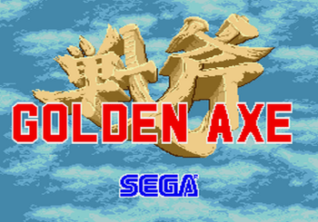 Golden Axe (Genesis) - 01