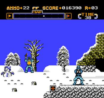 Gotcha! The Sport! (NES) - 18