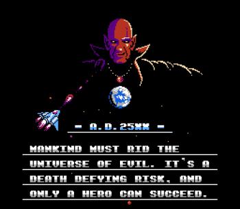 Gyruss (NES) - 02