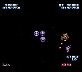 Gyruss (NES) - 17