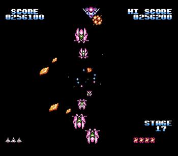 Gyruss (NES) - 26