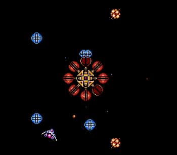 Gyruss (NES) - 36