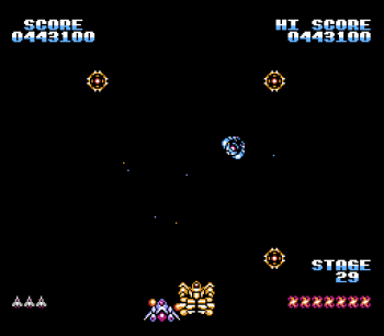 Gyruss (NES) - 45