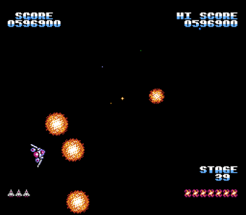 Gyruss (NES) - 57