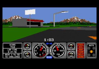 Hard Drivin' (Genesis) - 03