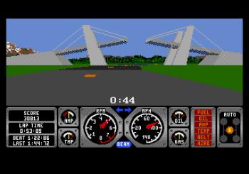 Hard Drivin' (Genesis) - 11