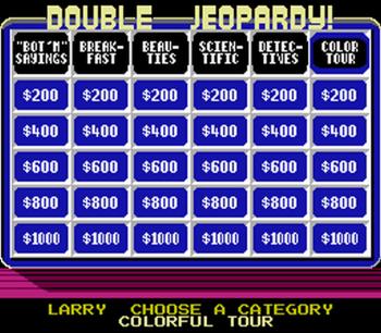 Jeopardy! Junior Edition (NES) - 11