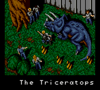 Jurassic Park (Game Gear) - 53