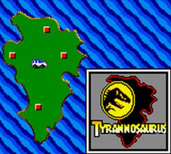 Jurassic Park (Game Gear) - 54