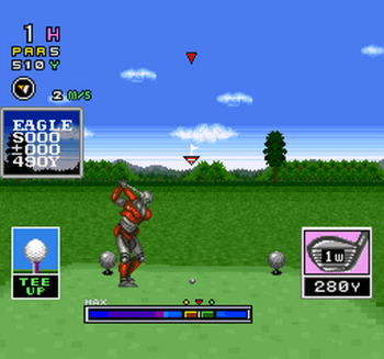 Mecarobot Golf (SNES) - 03